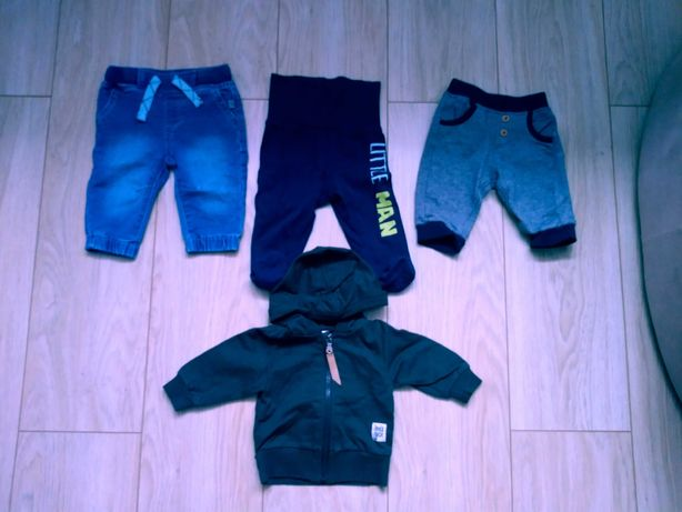 Joggery i półśpiochy coccodrillo + bluza i spodnie dresowe