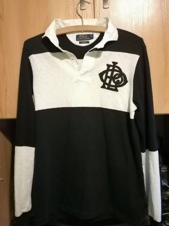 Sweterek Ralph Lauren- biało-czarny S