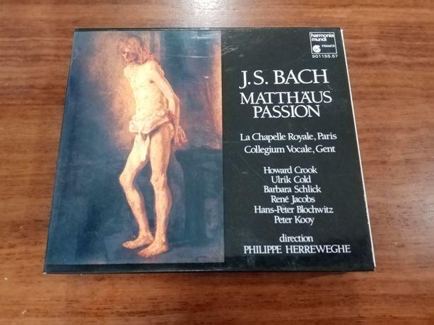 J. S. Bach Matthaus passion 3 CDS