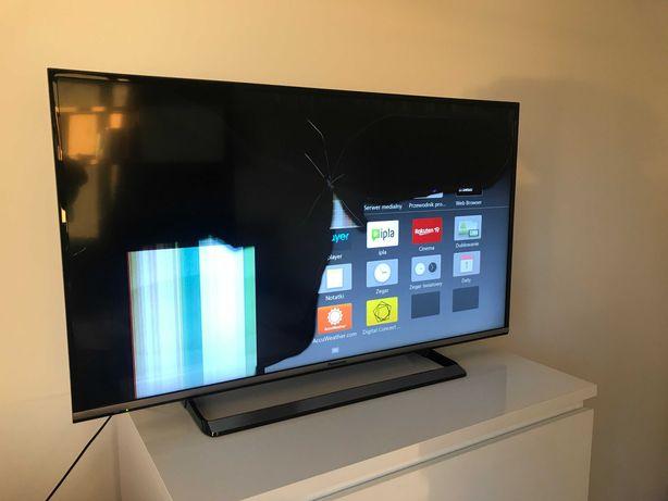 TV 40 CALI Panasonic TX-40CS520E Uszkodzona MATRYCA