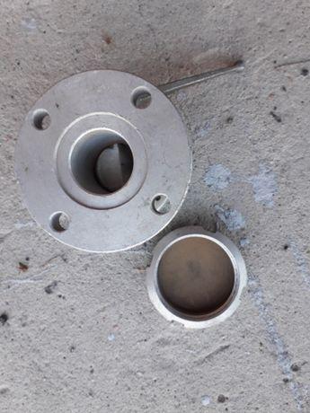 Zawór aluminiowy fi 50 z kołnierzem nowy
