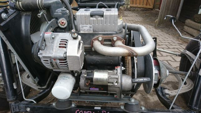 Silnik KUBOTA Lombardini Aixam Microcar Ligier części konin