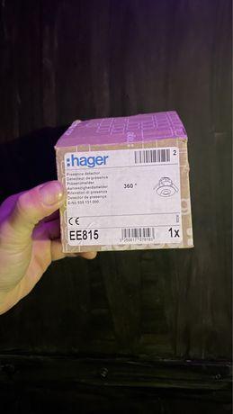 Датчик присутствия 360° моноблок EE815 Hager внутренний монтаж