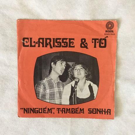 Vinil single Clarisse & Tó