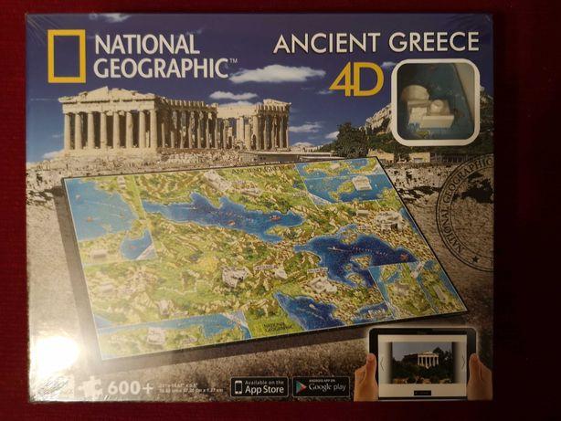 National Geographic puzzle 4D Acient Greece nowe w folii