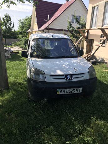 Peugeot partner 1.9d 2007г