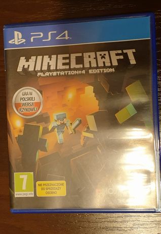Minecraft ps4 gra