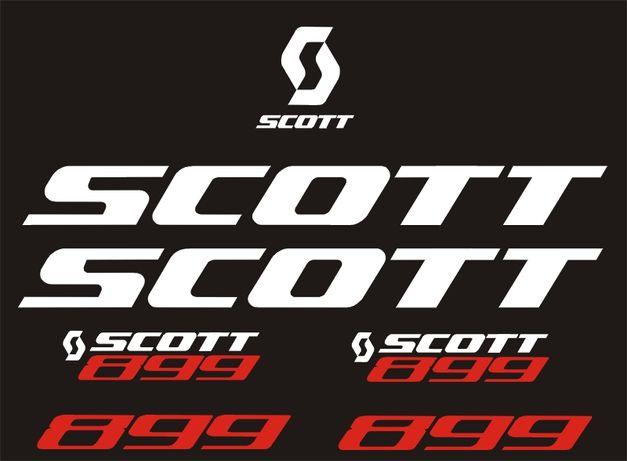 Scott Naklejki na rower wzór26 RÓŻNE KOLORY