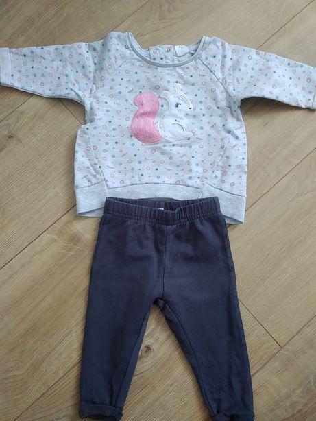 16. Zestaw 68 Cool club smyk bluza spodnie legginsy dla dziewczynki