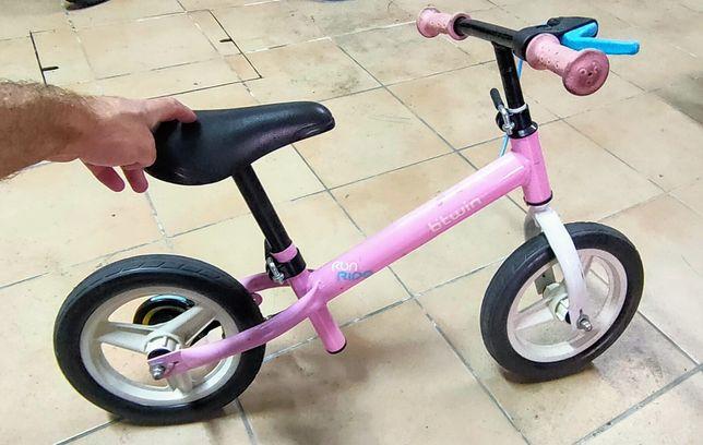 Bicicleta de criança Runride 500 Rosa Btwin