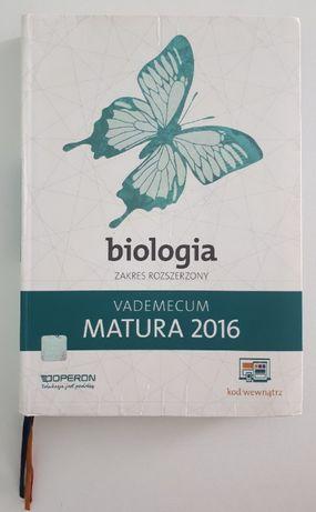 Vademecum matura 2016 Biologia zakres rozszerzony - wydawnictwo Operon