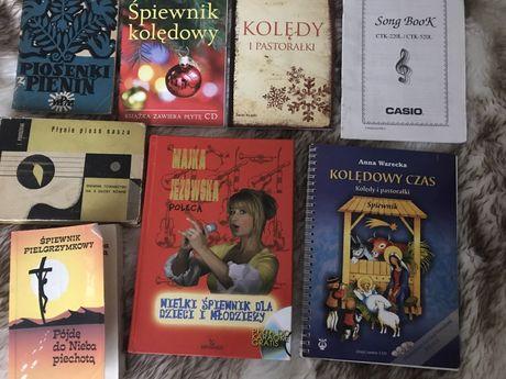 Śpiewniki, książki z nutami i tekstami