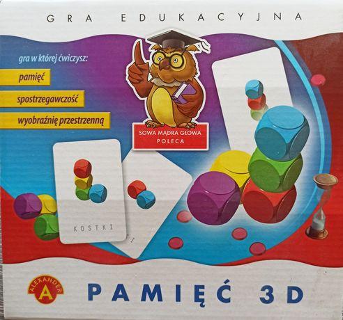 PAMIĘĆ 3D - Gra edukacyjna rozwijająca wyobraźnię przestrzenną dziecka