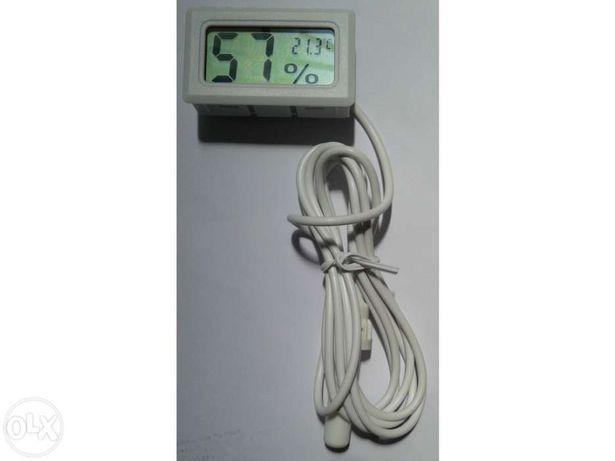 Termómetro e Higrómetro Digital com sonda