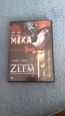 Płyta DVD z horrorami