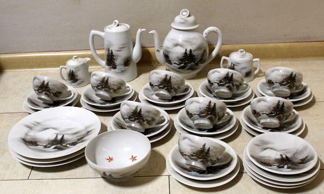 Japoński serwis do herbaty Soko China EggShell 9 osobowy