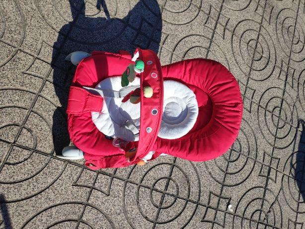 Espreguiçadeira chicco Hoopla - vermelha