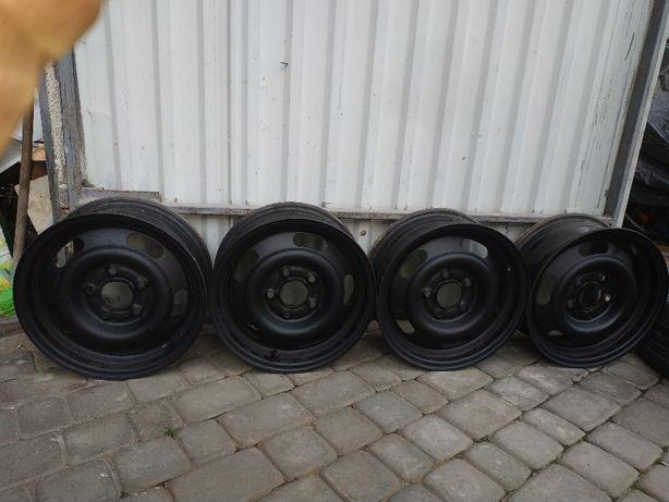 Диски сталеві R14 5*110 Fiat Croma Opel Zemfira Astra Omega