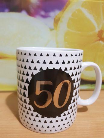 Kubek bossa. Kubek urodzinowy. 50 lat.