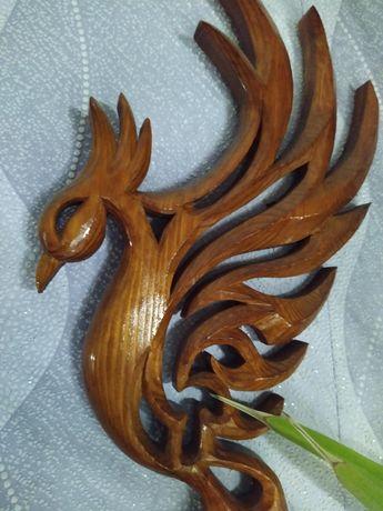 Птица - феникс ( на стену )