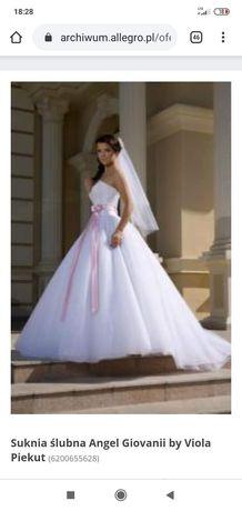 Suknia ślubna Viola Piekut model giovani