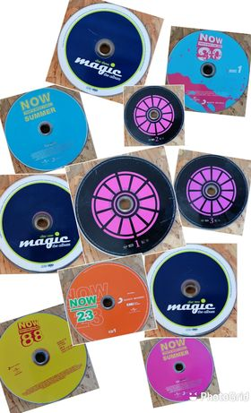 Vários CDs sem caixa e capas