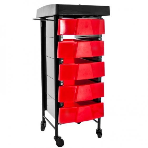 Pomocnik fryzjerski czerwono czarny Choroszcz - image 1