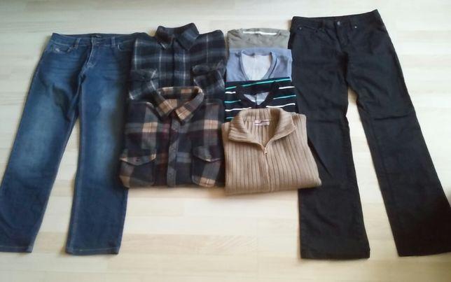 Tanio męskie ubrania