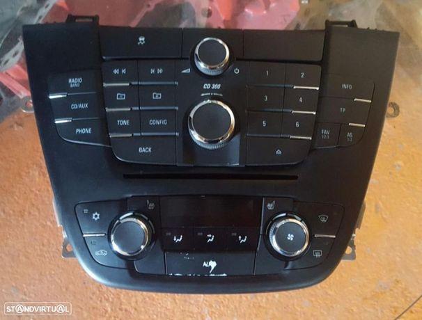 Painel Radio e Climatronic/Comando Sofagem Opel Insignia Van