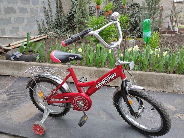 Классный детский велосипед