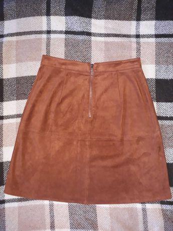 Замшевая юбка O'STIN, остин