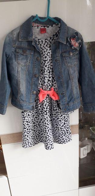 Kurtka jeansowa katanka dziewczęca