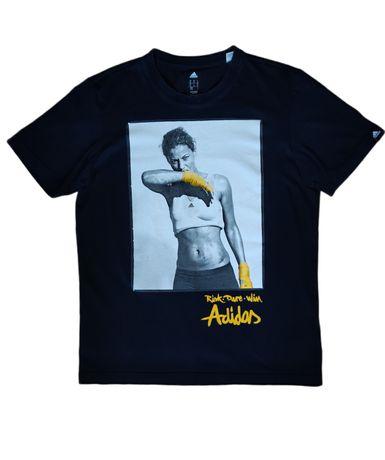 Adidas koszulka t-shirt vintage tee retro