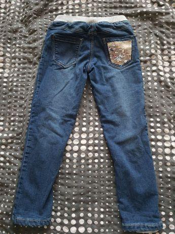 Spodnie jeansowe Smyk i H&M