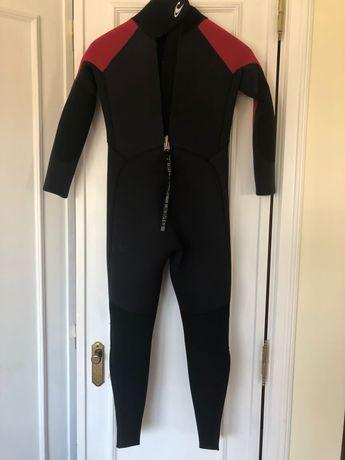 Wetsuit Surf marca O'neill (Tamanho 8 - Júnior)