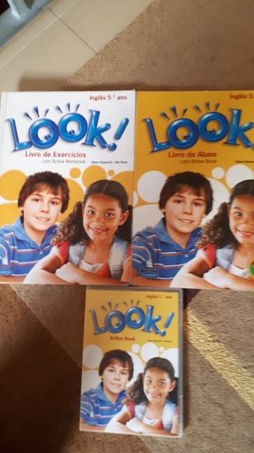 Livros Look! 5 ano