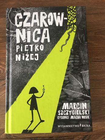 """""""Czarownica piętro niżej"""" Marcin Szygielski"""