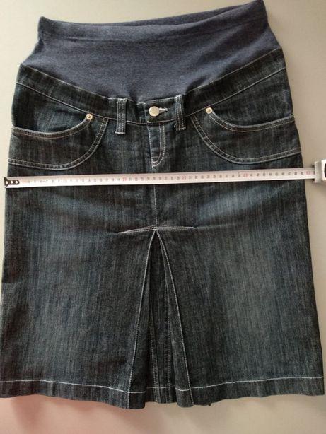 spódnica ciążowa jeansowa/ dżinsowa roz. M