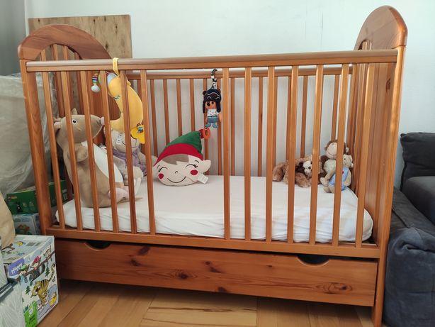 Łóżeczko niemowlęce Tymon Jardrew z szufladą