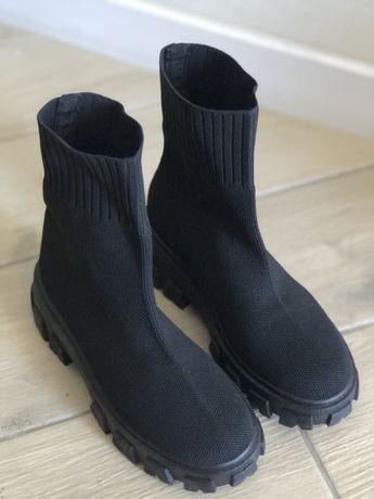 Ботинки - носки! Ботинки тканевые, текстиль.