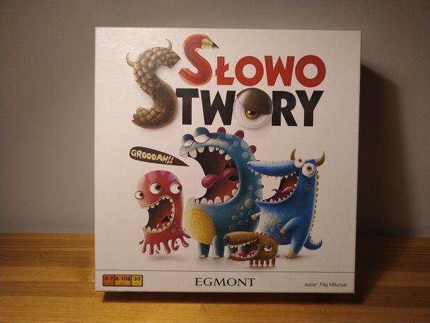 gra planszowa Słowostwory Egmont