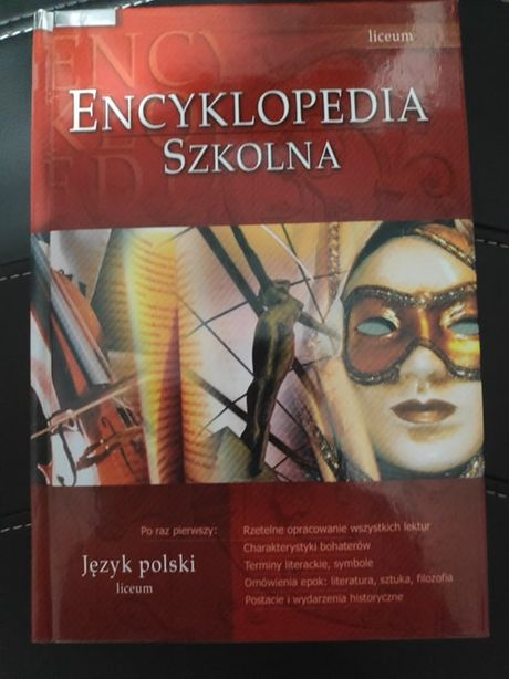 Encyklopedia szkolna język polski liceum GREG