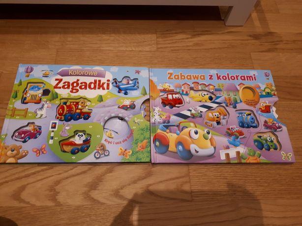 2 książeczki 1+