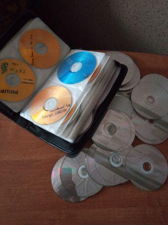 CD  диски для поделок и сумка для дисков