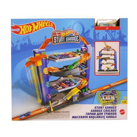 "Трек Хот Вилс "" Четырехэтажный гараж"" GNL70 Hot Wheels"