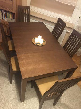 Stół i krzesła Paged
