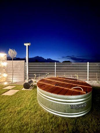 Balia ogrodowa ze stali ocynkowanej, bania, wanna, SPA, basen