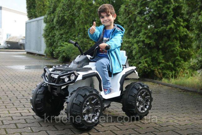 Детский электромобиль Квадроцикл M 3156, колеса EVA, кожаное сиденье