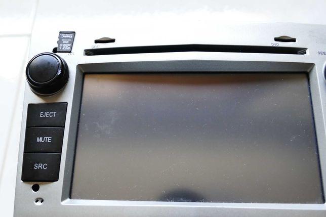 Auto radio Opel GPS ecrã touch dvd mp3 usb