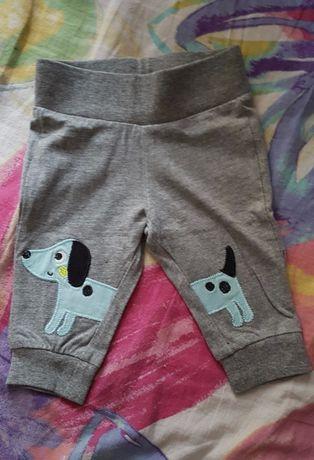 Spodnie dresowe niemowlece 62